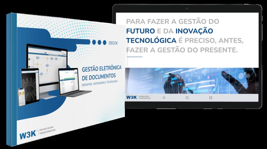 Capa do E-book ECM/GED
